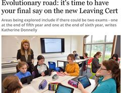 First Irish Independent appearance for GETSS