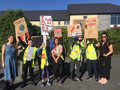 GETSS joins Fridays for Future Climate Action Strike